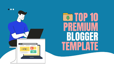 Top 10 premium blogger template of 2020. [Free Download]