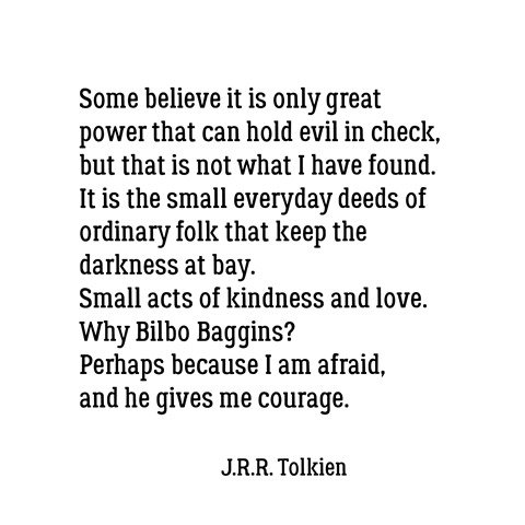 bilbo baggins quote