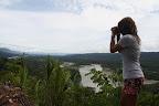 Vasilisa Scoping Out The Madre de Dios River (Manu National Park, Peru)