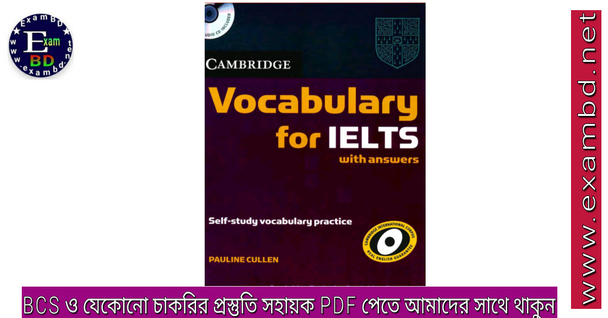 Vocabulary For IELTS - Full Book PDF
