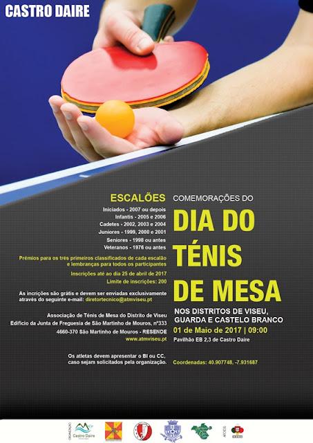 Torneio de Ténis de Mesa em Castro Daire – Farol da Nossa Terra 901edd0e19ce5