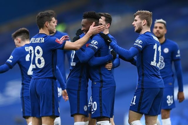 F A CUP : Chelsea Trashes Morecambe 4 Nil As Timo Werner Got On The Scoresheet