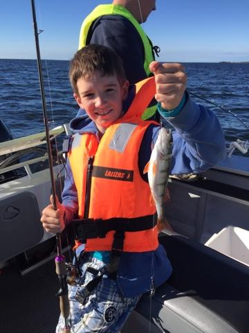En tr g eftermiddag petter larsson for Elias v fishing