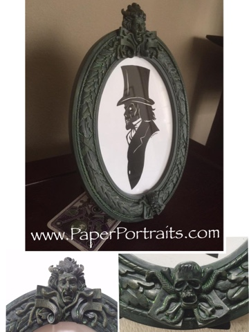 Paperportraitscom Hatbox Ghost In A Real Haunted Mansion Disney