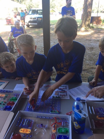 Allen Family Adventures: Cub Scout Camping Fun