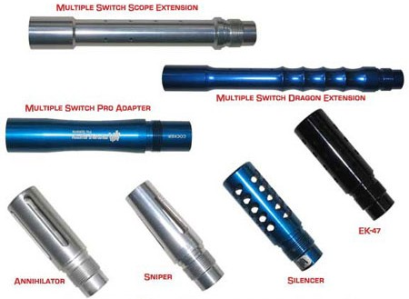 Equation USA Multiple Switch Barrel System
