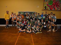 Les participants à la compétition Coupe VRL 1 du 3 décembre 2011.