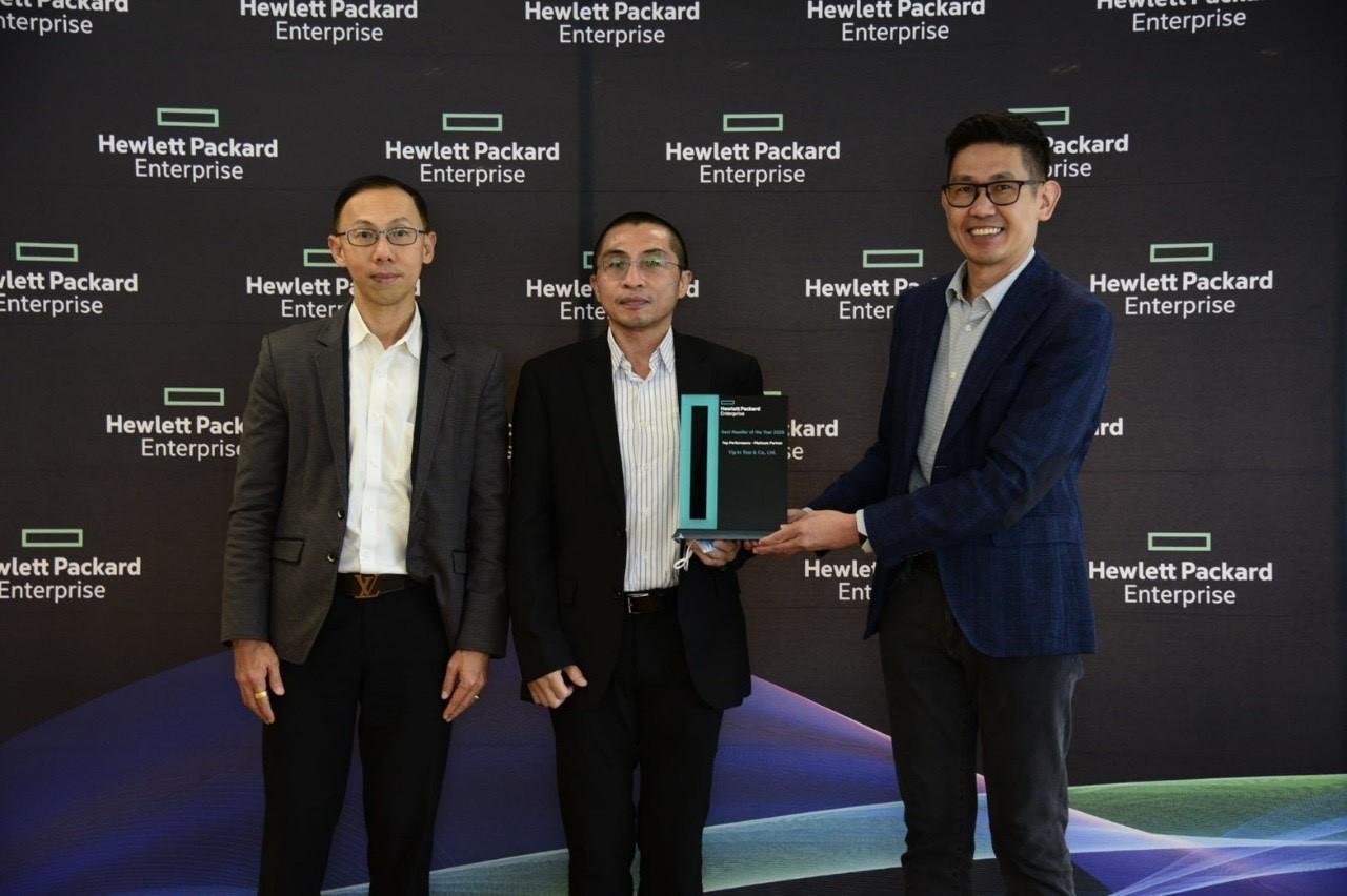 Yip In Tsoi  ฉลองคว้าแชมป์ Best Reseller of the Year 2020 Top Performance - Platinum 10 ปีซ้อน สุดยอดตัวแทนจำหน่าย HPE