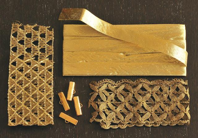 Lace Cuff Project Materials