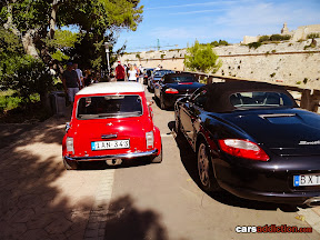 Mini and Porsche