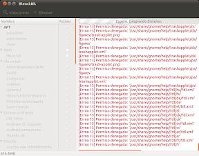 BleachBit o como limpiar tu Ubuntu, Linux Mint, etc, a lo fácil. Uso 2.