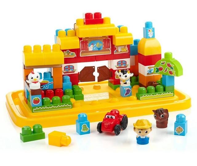 Bộ xếp hình nông trại vui vẻ Mega Bloks DCL34