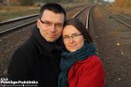 Kasia i Maciej Marczewscy w drodze na Kaszubach