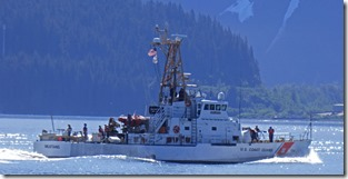 USCGC Mustang in Resurrection Bay, Seward Alaska