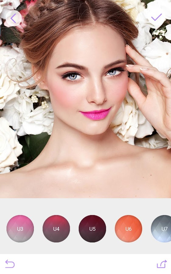 You Makeup Photo Editor- screenshot