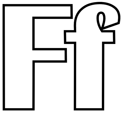 Geography Blog: Letter F Coloring Page