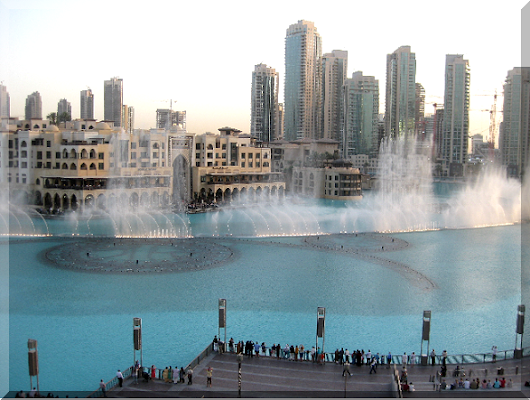 Dubai Fountain Show - Dio Rifqi Blog