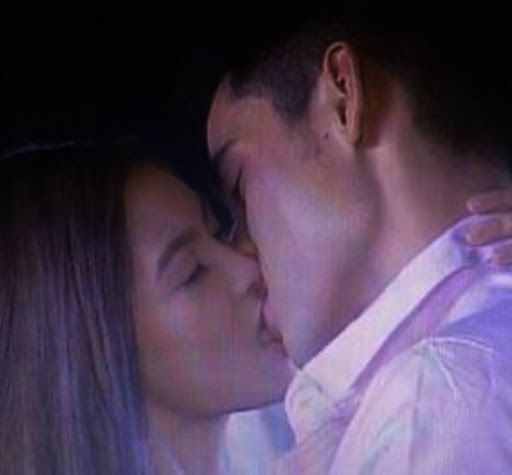 Xian Lim and Kim Chiu French kiss Photos
