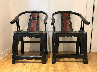 Asian Chair Pair