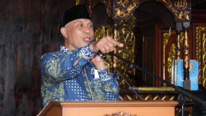 Gubernur Mahyeldi Ajak Umat Islam Kompak Selamatkan Bangsa dari Krisis.