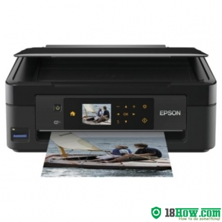 How to reset flashing lights for Epson XP-311 printer