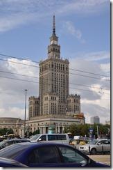 5 Varsovie palais de la culture