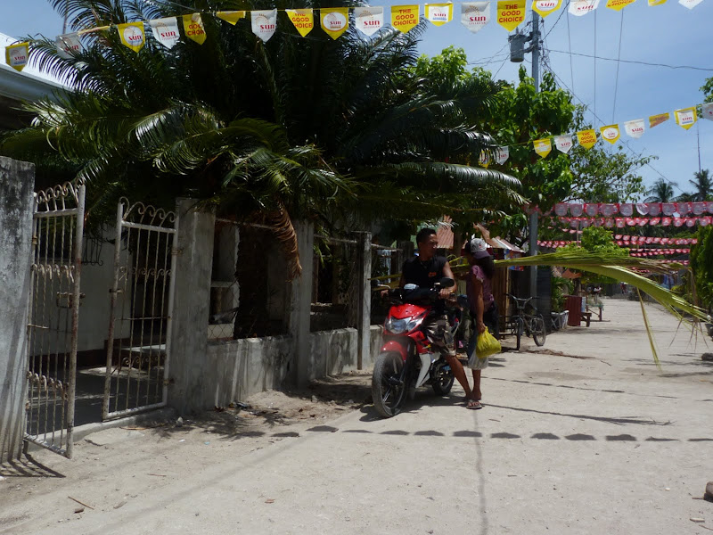 Le village de Malapascua
