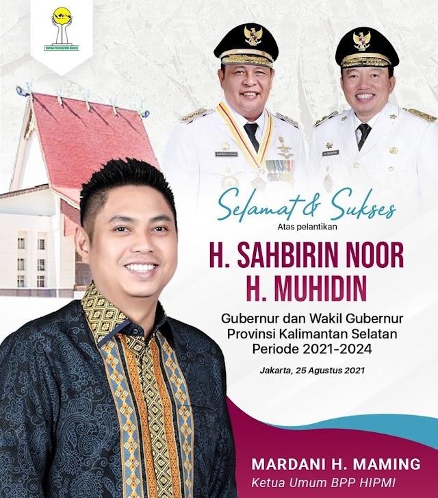Mardani H. Maming; Ayo Kita Dukung Paman Birin dan H. Muhidin