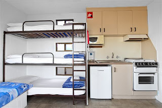 Standard Holiday Cabin 1 -Triple Bunk and Kitchenette