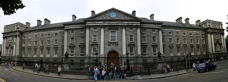 Trinity College Dublin panorama