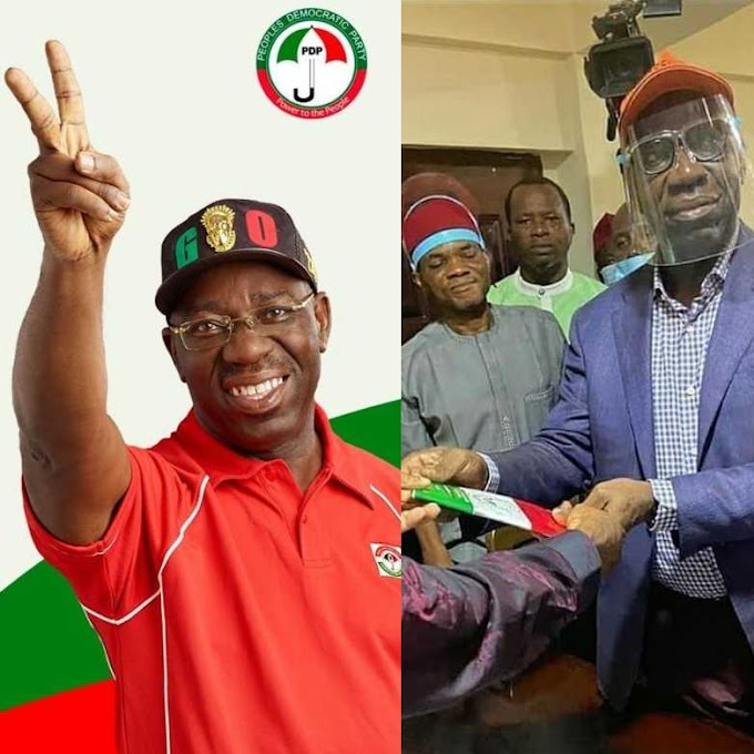 APC reacts as Governor Obaseki officially defects to PDP
