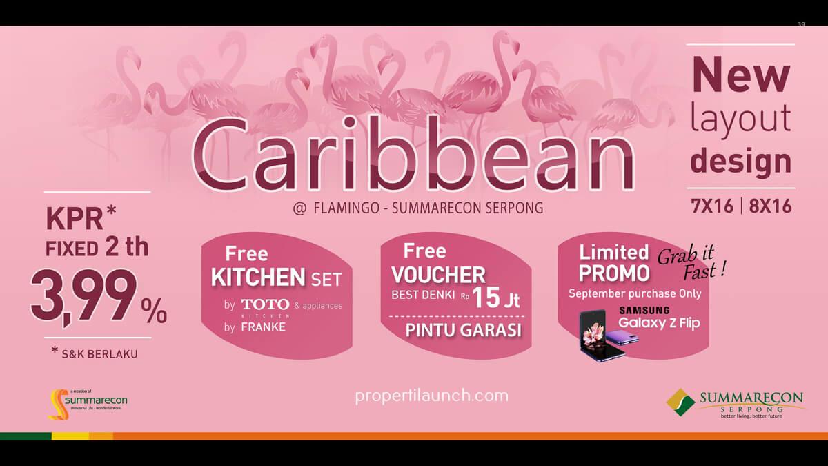 Promo Rumah Caribbean Summarecon Serpong