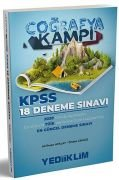 Yediiklim Yayınları KPSS Coğrafya Kampı 18 Deneme Sınavı