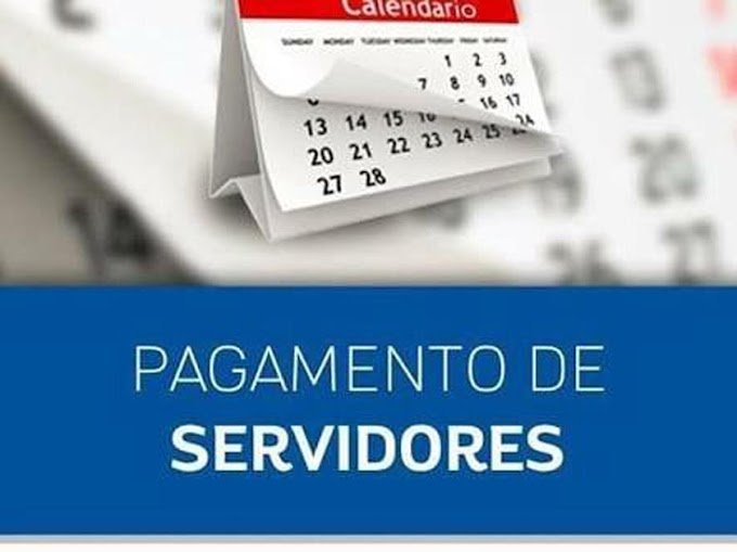 SERVIDORES: PAGAMENTO EM DIA NO PRIMEIRO MÊS DA GESTÃO ALESSANDRO PALMEIRA