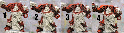 Painting a Blood Angel Terminator step by step