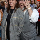 WWW.ENTSIMAGES.COM - Jill Halfpenny   and Andy Nyman  arriving at          FORBIDDEN BROADWAY - Press Night at Vaudeville Theatre London September 15th 2014Phillip George directs return of Gerard Akessandrini's comedy revue which, when it was first performed in New York, poked fun at a range of Broadway stars including Whoopi Goldberg and Elaine Paige.                                             Photo Mobis Photos/OIC 0203 174 1069