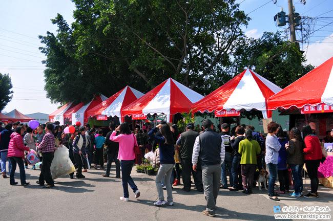 2014小麥文化節 - 花卉產銷班攤位