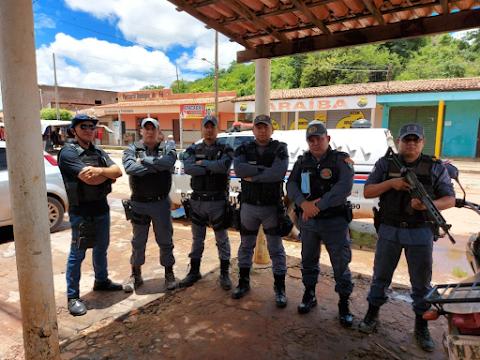 CBPM Ernandes dá boas-vindas ao novo comandante da PM em São Roberto-MA