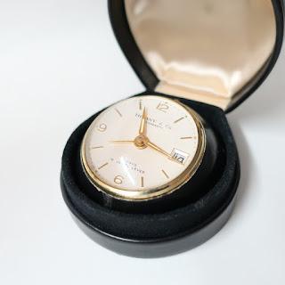 Tiffany & Co. 8-Day Travel Alarm Clock