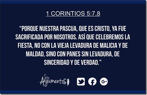 1corintios 5.7,8