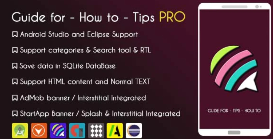 Tips Guide App Pro Source Code