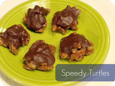 speedy turtles recipe candy christmas treats
