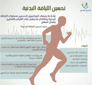 رفع مستوى اللياقة البدنية