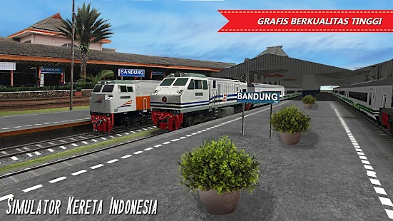 Simulator Kereta Indonesia Screenshot
