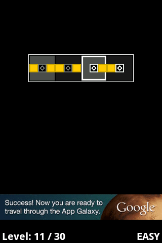 screenshot jogo de puzzle android connector lite