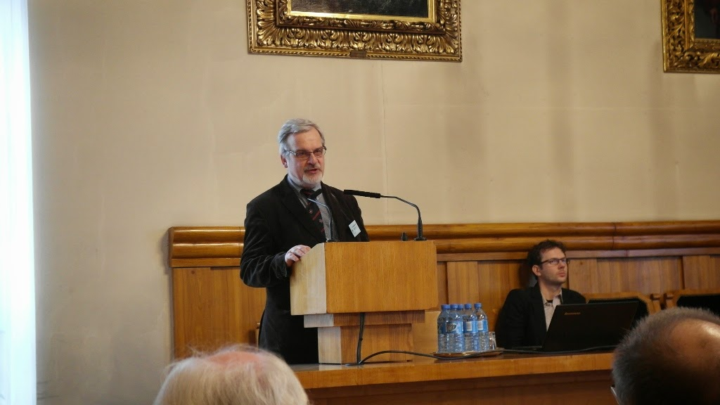 Konferencja Metody geofizyczne w archeologii polskiej (fot. J. Karmowski, K. Kiersnowski) - geof%2B%252816%2529.JPG