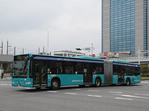 京成バス「新都心幕張線用連節バス」 4834