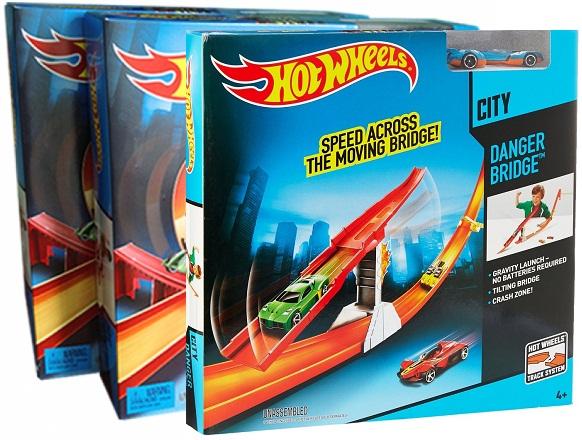 Sản phẩm Mô hình Đường đua Hot Wheels Khám phá báu vật BCT35 chất lượng cao