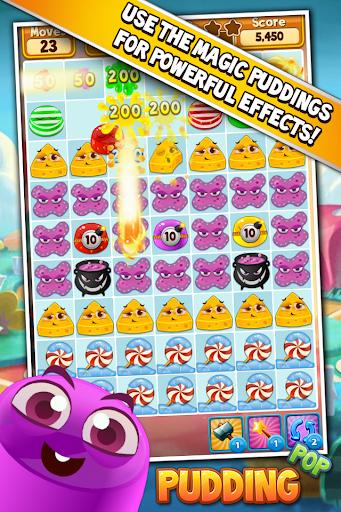 Pudding Pop - Connect & Splash Free Match 3 Game screenshot 2