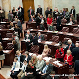 1-9-17 Arkansas 91st General Assembly House Opening Day from Gallery